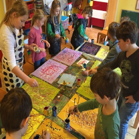 Kreativ- workshop-schulkinder